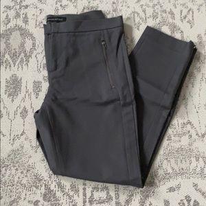 Banana Republic Grey Skinny Ankle Pants Sz 4P